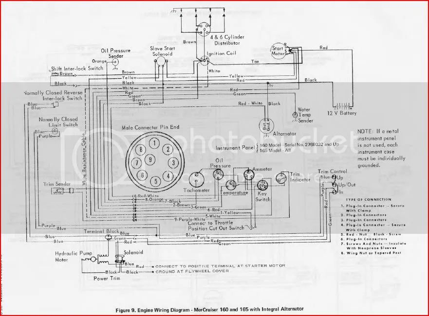 mercruiser 165 wiring diagram