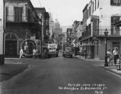 The French Quarter of New Orleans in 1952