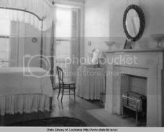 The interior of a Pontalba apartment from the 1930s