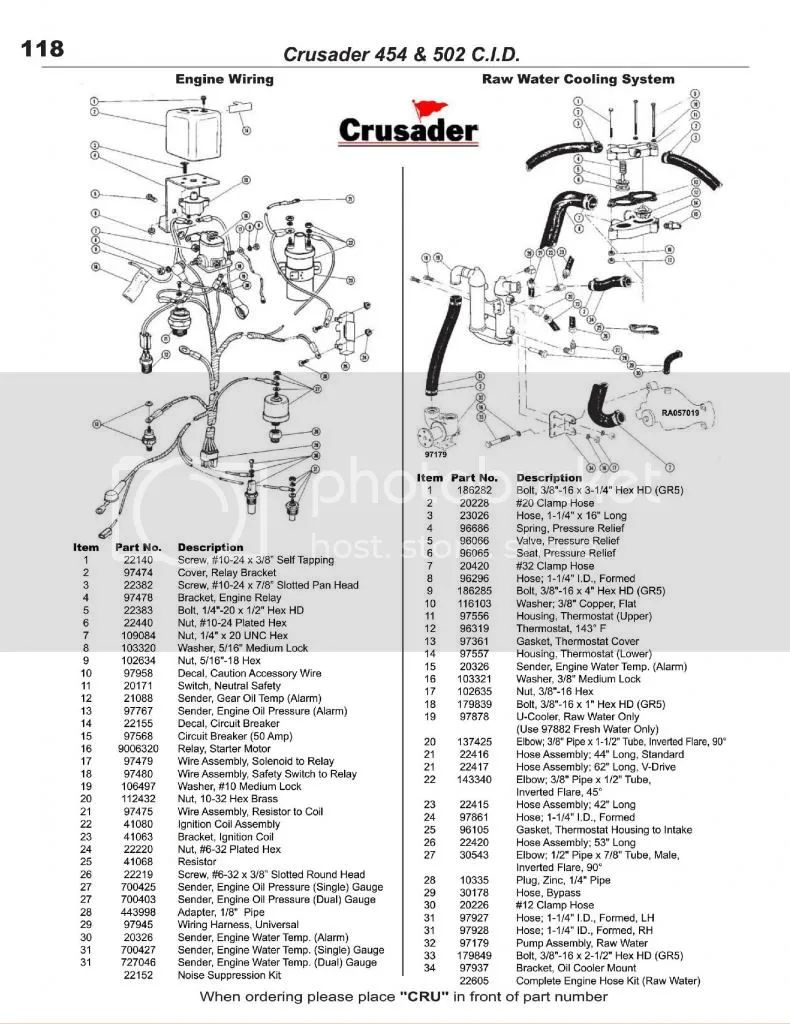 crusader 454 wiring diagram 2000