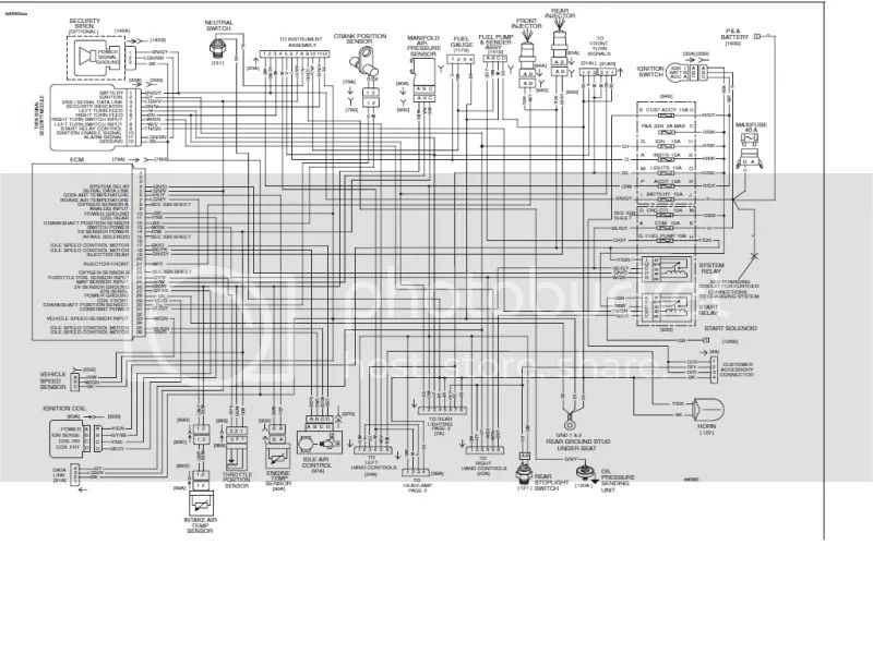 wiring diagram speedo beat street