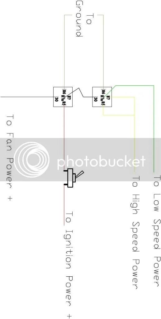 Dual Cooling Fan Wiring Diagram technical wiring diagram