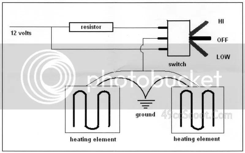 wiring diagram for heat demon grips