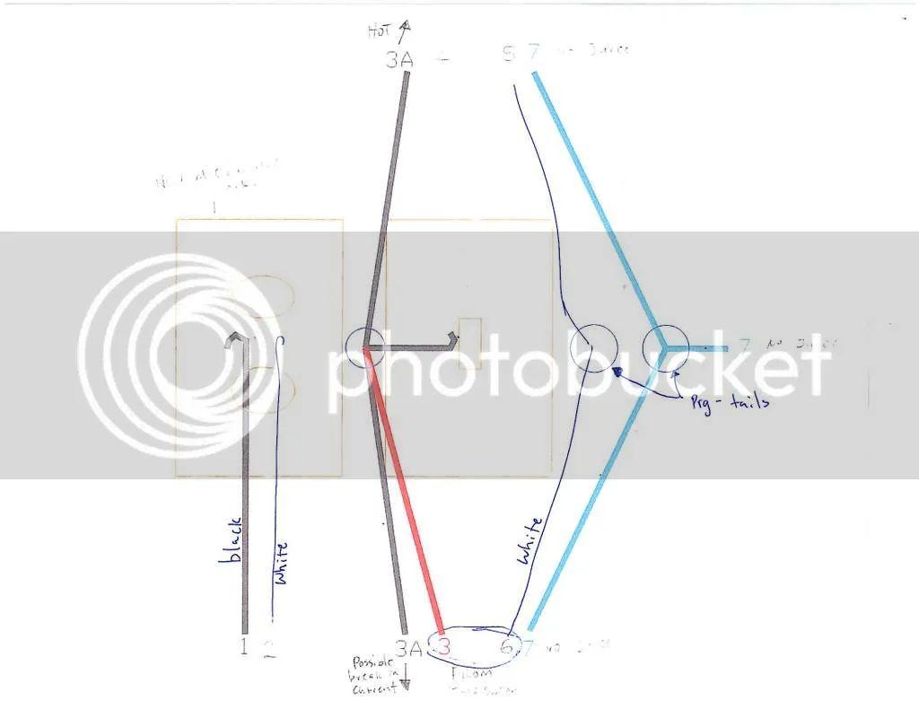 install 2 way switch diagram