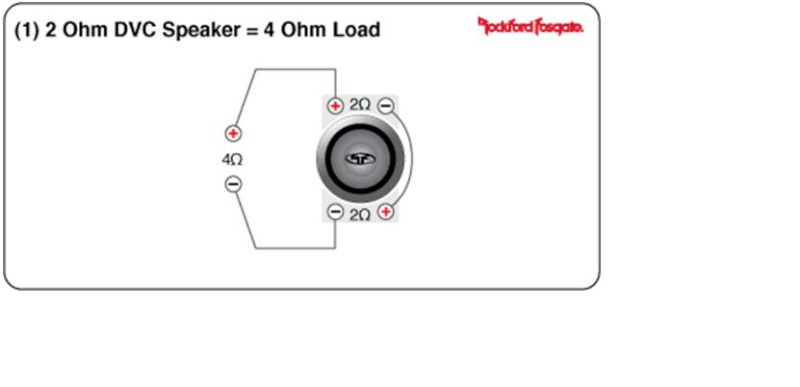 4 ohm subwoofer schema cablage