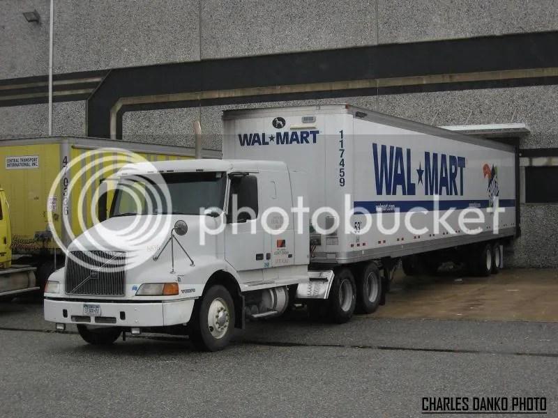 Outside Carriers Pullin\u0027 for Walmart