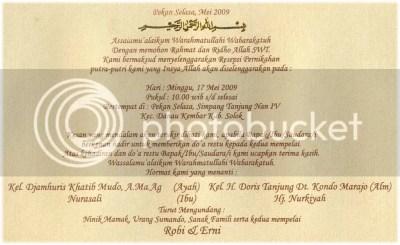 Undangan Pernikahan Dalam Bahasa Inggris