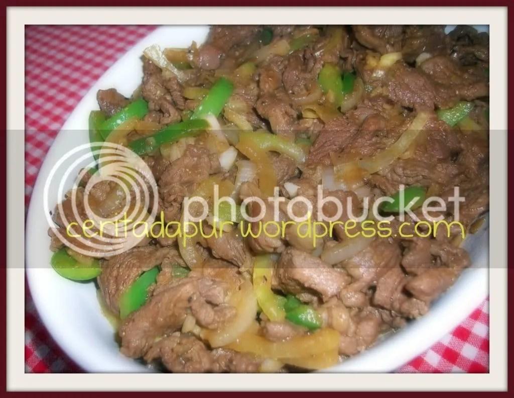 Beef Yakiniku Daging Daging Sapi Hoka Hoka Bento Hokben Resep Yakiniku