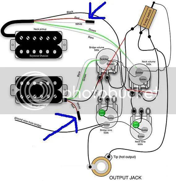 sg wiring diagram seymour duncan