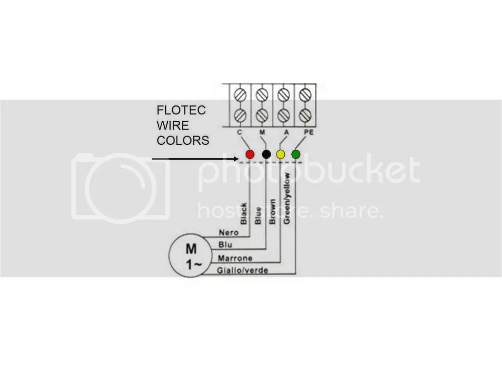 red jacket pump wiring diagram
