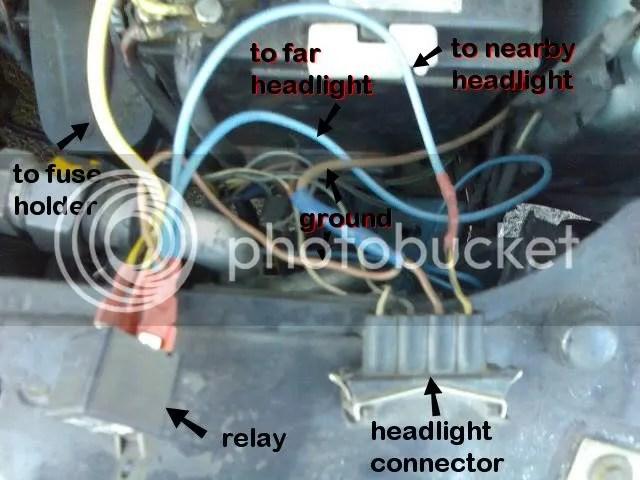 vw headlight wiring diagram vw mk headlight switch wiring diagram