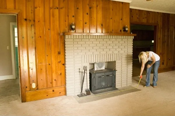 My 82 Fireplace Makeover The Lettered Cottage