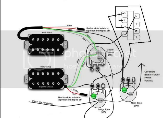 thread series parallel toggle wiring