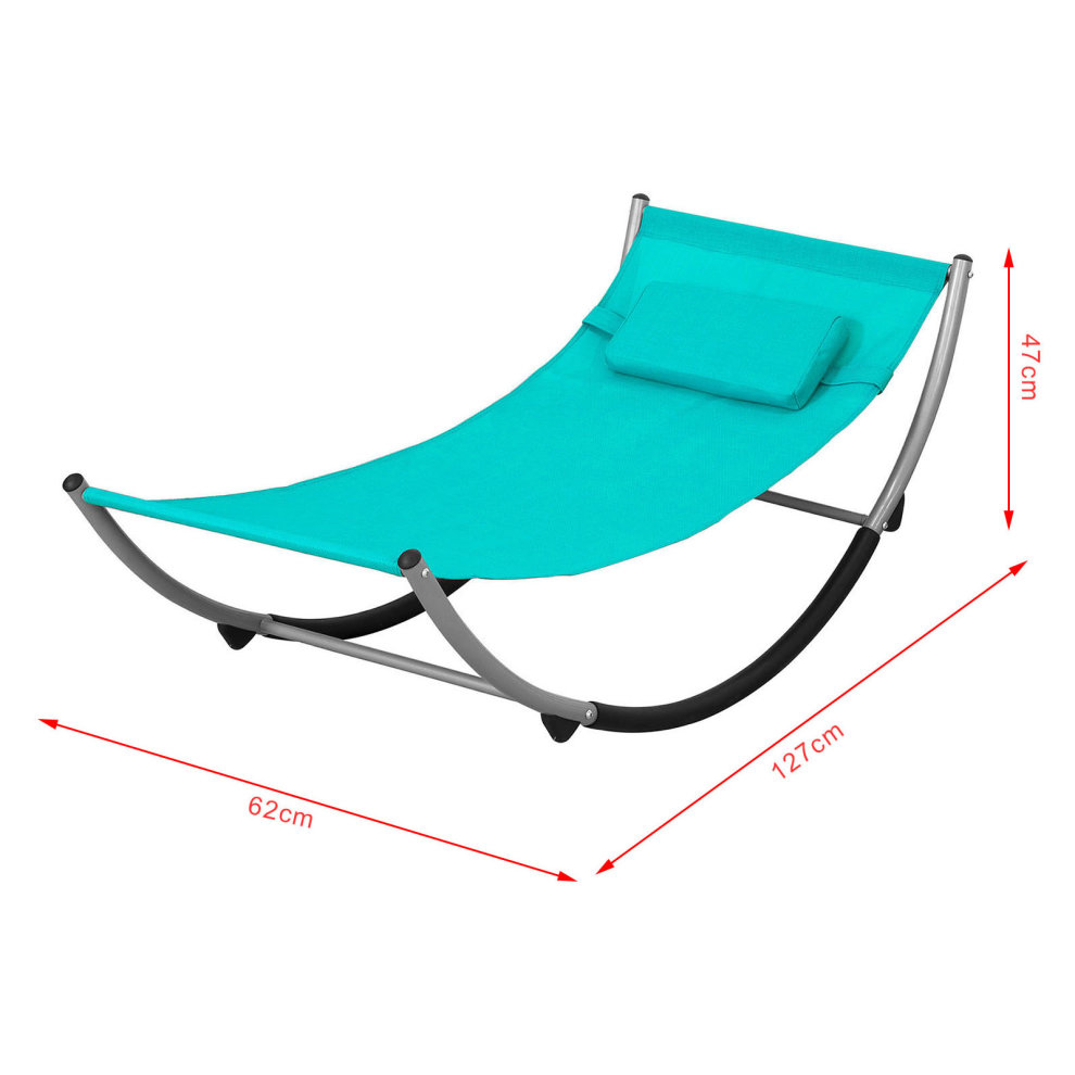 Sobuy Shop Sobuy Kmb04 B Outdoor Children Kids Rocking Hammock Sun Lounger