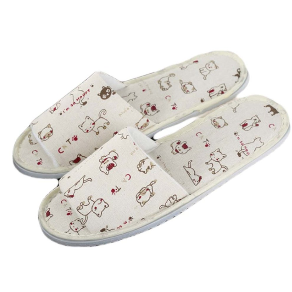 Baby Hotel Slippers 10 Pairs Hotel Spa Slippers Open Toes Home Guest Slippers For Women