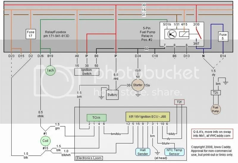 Vw Mk1 Alternator Wiring Control Cables  Wiring Diagram