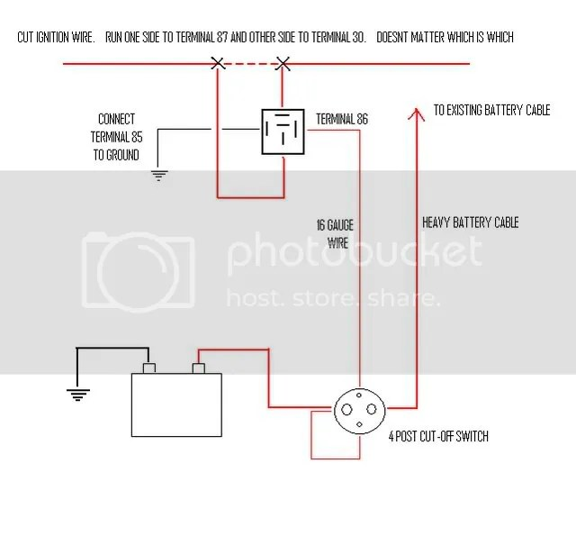Thread Wiring A 4 Post Battery Disconnect Switch Index listing of