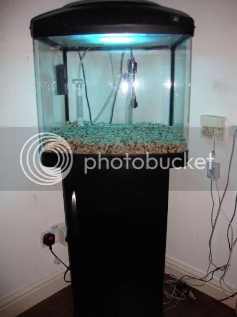 Fish pod aquarium 48 interpet fish pod aquarium 48 l for Fish tank with filter and heater