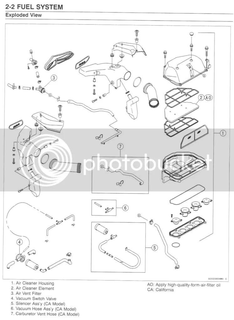 kawasaki ninja 650 engine diagram