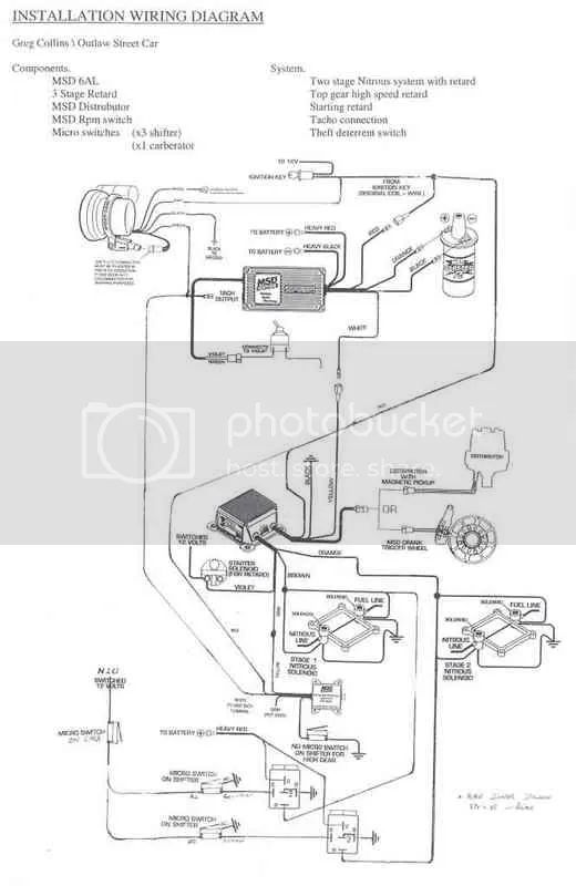 wiring diagram for slot car drag strip