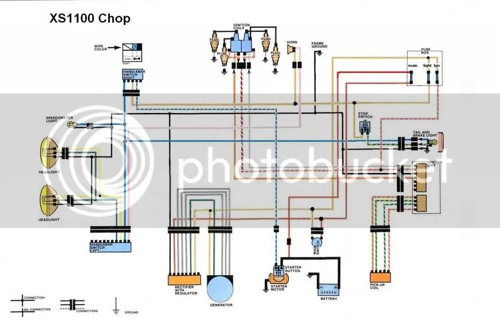 Xs1100 Fuse Box Wiring Diagram