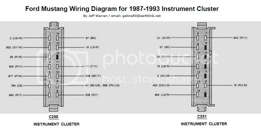 93 Mustang Fuel Pump Wiring Diagram Schematic Diagram Electronic