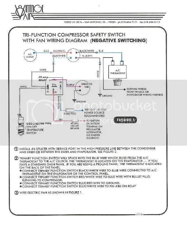 A C Trinary Switch Wiring Diagram For Cooling Fan Schematic Diagram