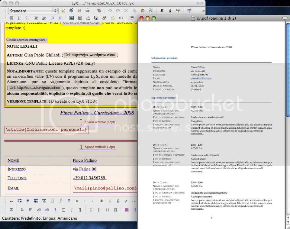 Lyx report template create latex documents graphically with lyx lyx resume template lyx open template about awesome cv is latex yelopaper Choice Image