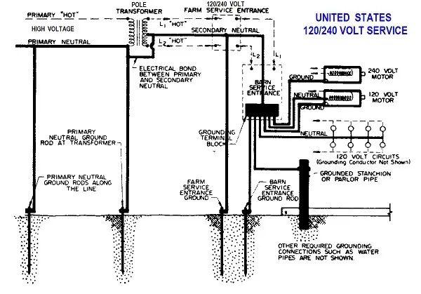 240 volt circuit breaker diagram