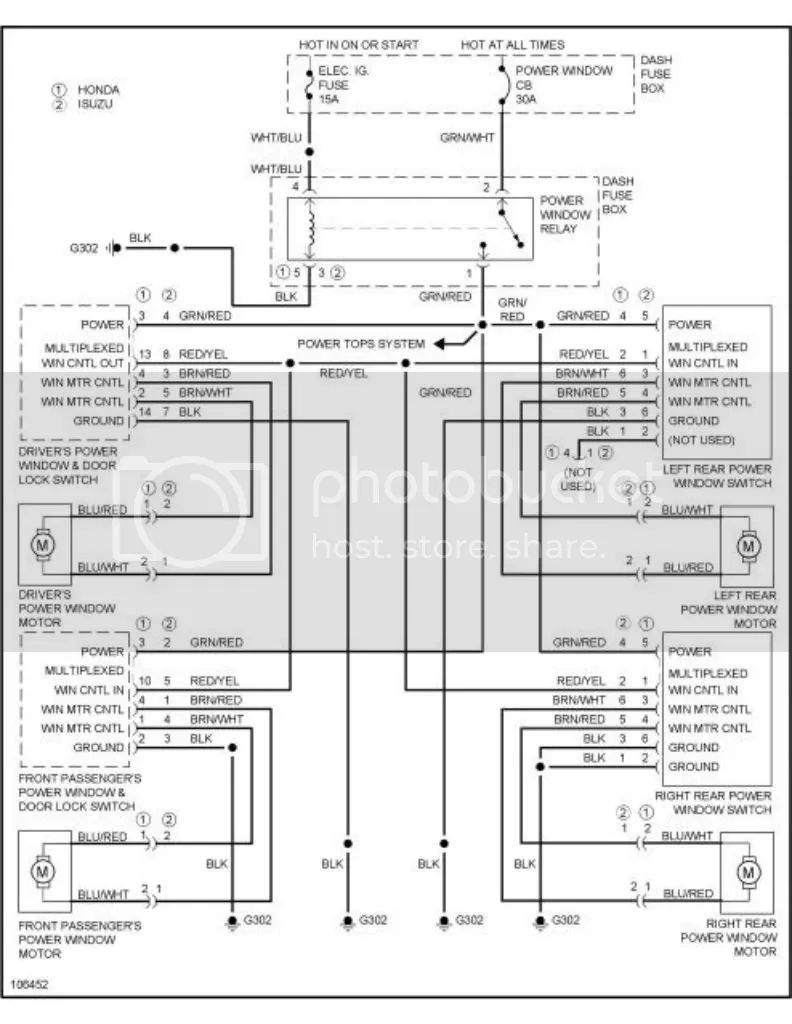 2002 isuzu trooper wiring diagram
