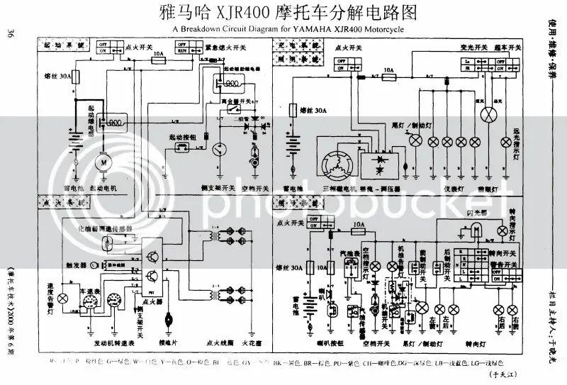 yamaha xjr 1300 wiring diagram