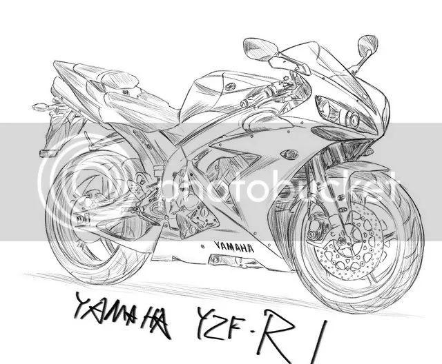 2007 yamaha r1 Schaltplang