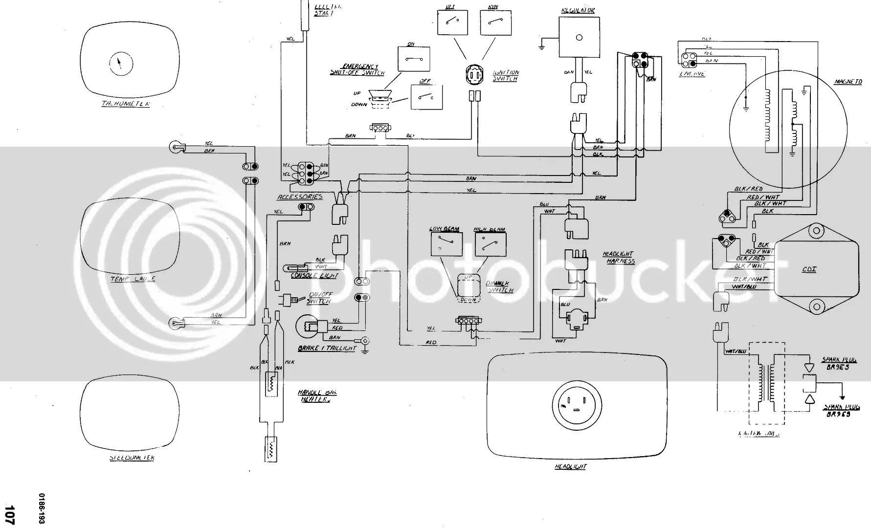 artic cat jag wiring diagram for 1979
