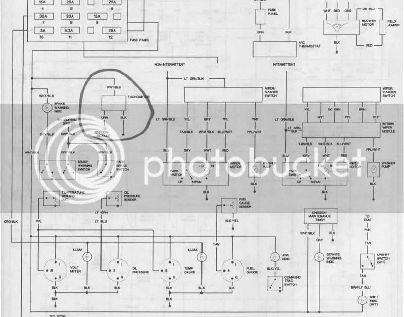 1992 jeep wrangler engine diagram