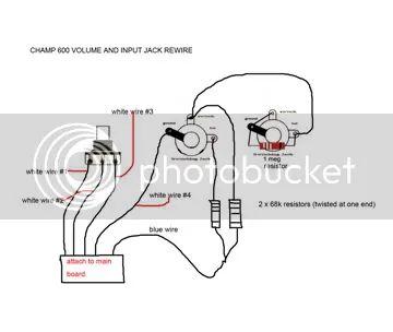 guitar input jack wiring diagram