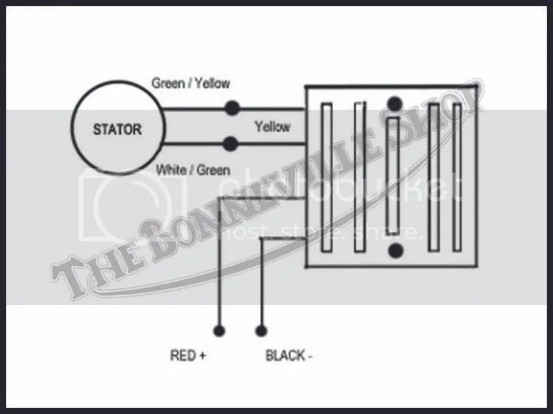 podtronics regulator rectifier wiring diagram