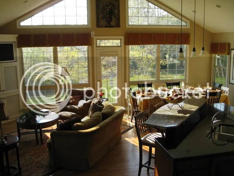 Living Room\/Kitchen Open Concept - open concept living room