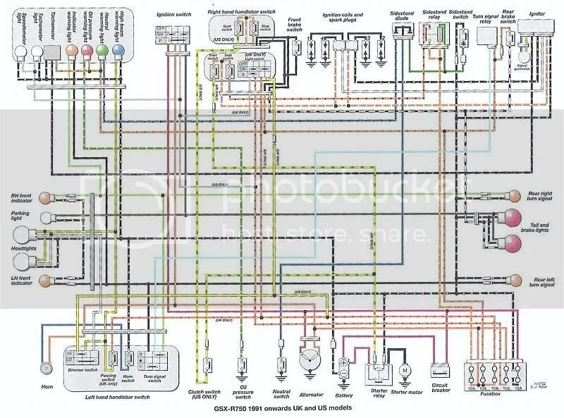 94 Gsxr Wiring Diagram Get Free Image About Wiring Diagram Index