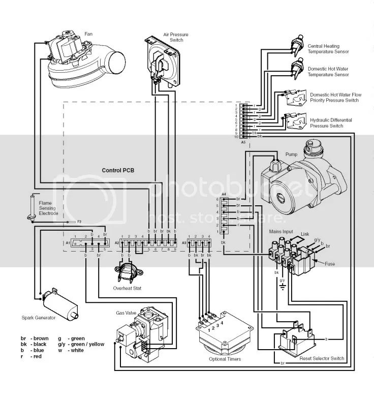 boiler air pressure switch wiring diagram
