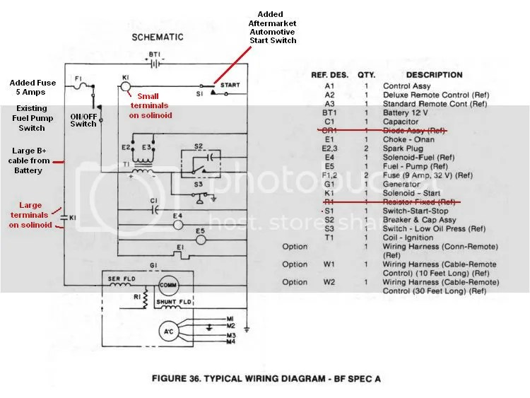 Onan Ignition Switch Wiring Diagram Wiring Schematic Diagram