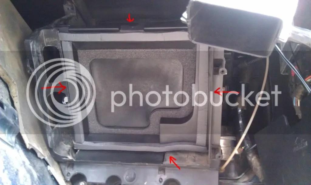 Service Manual 1999 Ford Econoline E150 Blend Door Repair