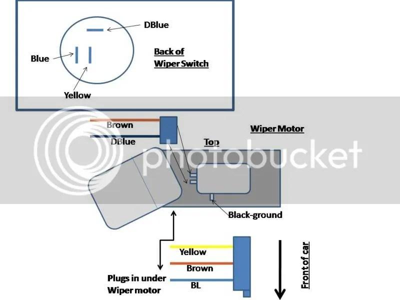 Need help with 67 wiper switch/motor wiring - CorvetteForum
