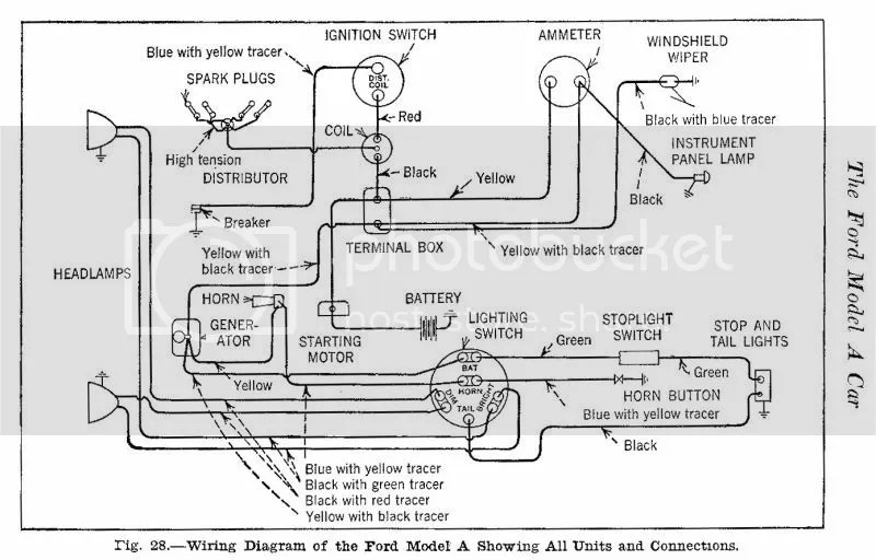 Model A Electrical Diagram - Wiring Diagrams