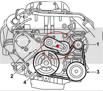 Serpentine Belt How To - SaabCentral Forums