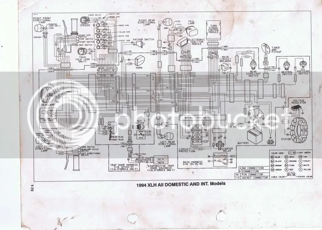 2000 Harley Davidson Softail Wiring Diagram Wiring Schematic Diagram