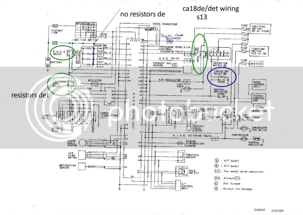 1990s nissan engines diagram