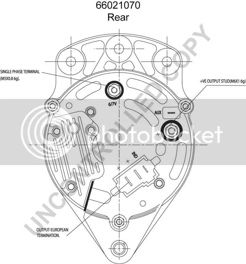 lucas 15ac alternator wiring diagram