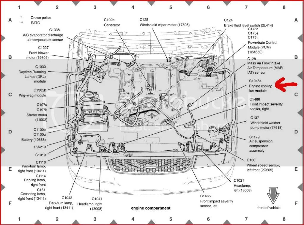 ford crown vic wiring diagram
