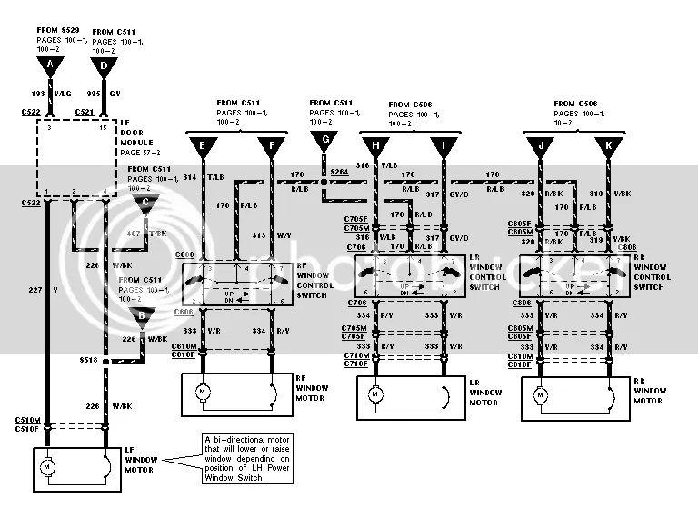 crown vic seat wiring diagram