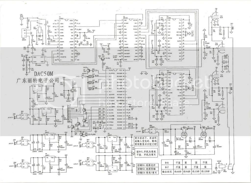 schematics of dac with two pcm1704